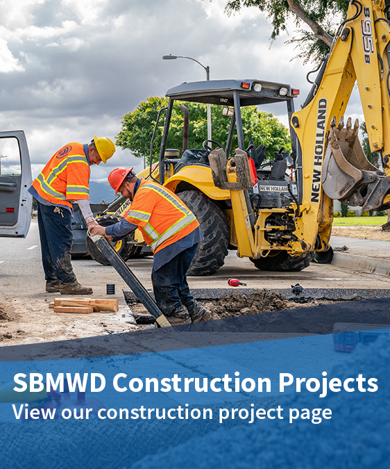 SBMWD Construction Project