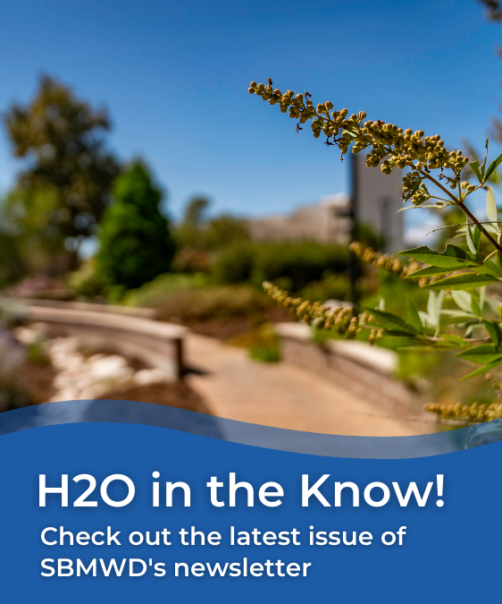 H2O in the Know! Check out the latest issue of SBMWD's Newsletter